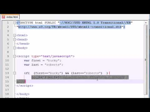 beginner-javascript-tutorial---17---complex-conditions