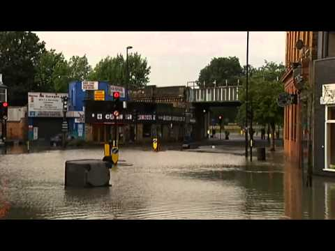Herne Hill Flood As Water Main Bursts