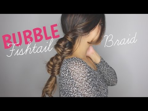 HOW TO: Bubble Fishtail Braid   BeautyWithTashy