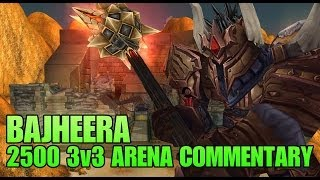 Bajheera - Warrior 3v3 Arena as KFC to 2500+ - 5.4.8 Gladiator Warrior PvP