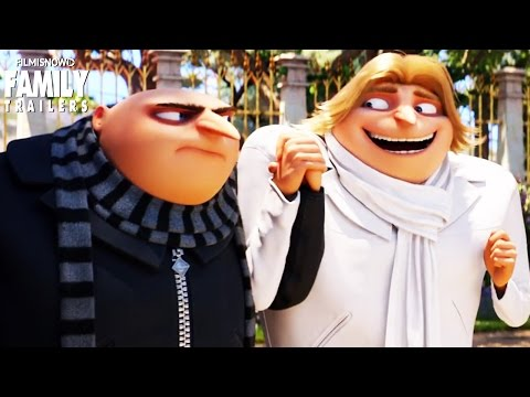 Thumbnail: Despicable Me 3 | Gru meets his twin Dru in funny new trailer