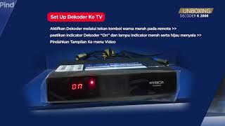 UNBOXING DEKODER K-VISION CARTENZ K2000