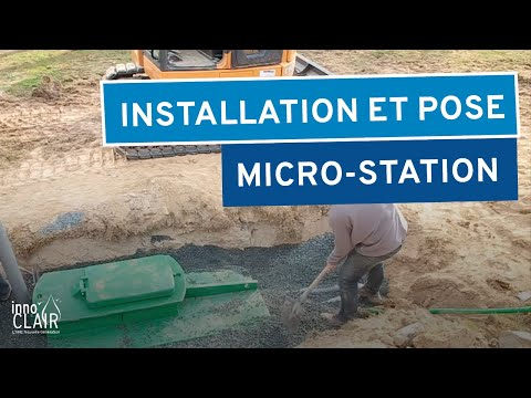 Installation Et Pose D'une Microstation INNOCLAIR NG6 4 à 6 EH