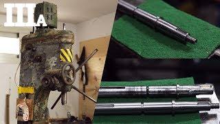 🔥 1950 Drill Milling Machine Restoration | Part III a 🔥