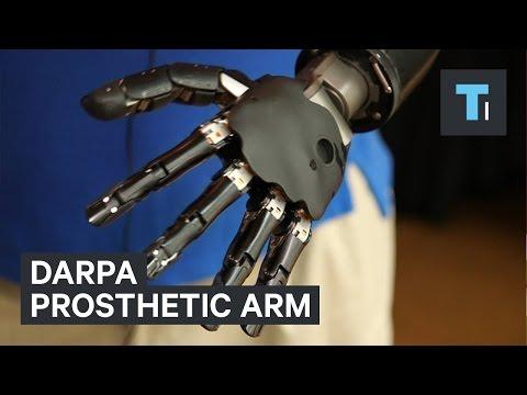 DARPA prosthetic arm