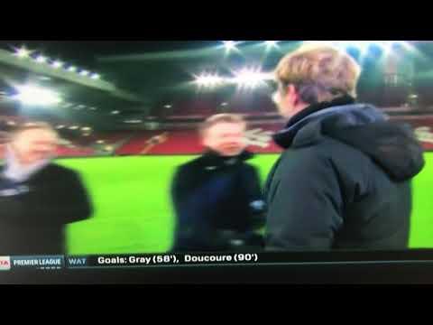 Jurgen Klopp drops F Bomb live on US TV after the Liverpool v Man City game