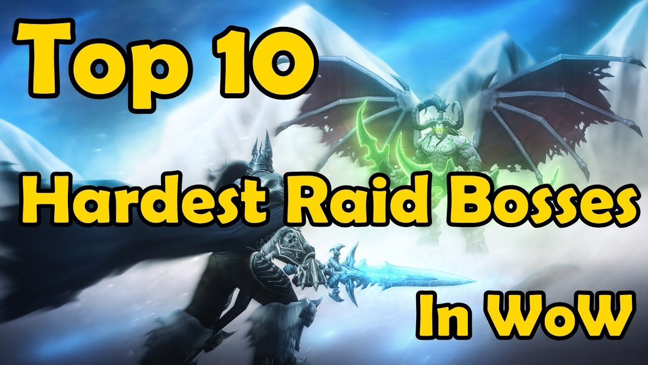 Top 10 Hardest Raid Bosses of All Time in World of Warcraft [Reforged] thumbnail