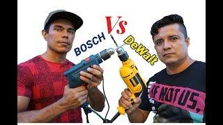 Dewalt vs Bosch cual es mejor, taladro rotomartillo bosch, dewalt, comparativa,2020, ponlo a prueba