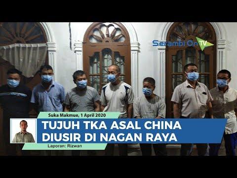 Tujuh TKA Asal China Diusir Di Nagan Raya
