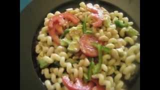 White Kidney  Beans W/avocado Pasta Salad!