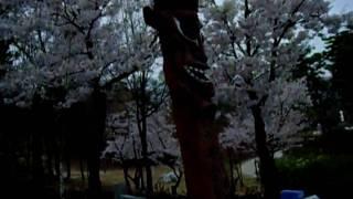 Korea shamanism. 장승 a guardian[protecting] deity ).