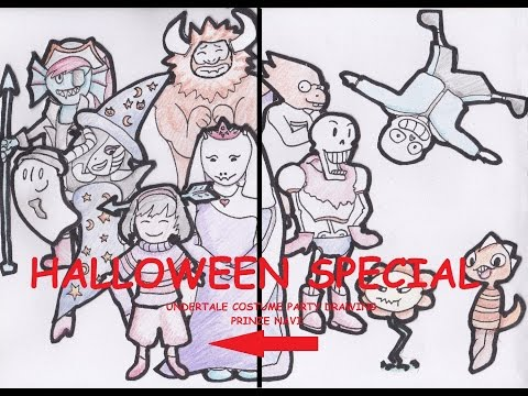 THE UNDERTALE HALLOWEEN SPECIAL DRAWING