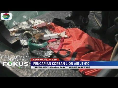 Tim SAR Temukan Bagian Tubuh Korban Lion Air 7 Mile dari Titik Awal Terjatuh - Fokus Mp3