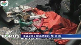 Tim SAR Temukan Bagian Tubuh Korban Lion Air 7 Mile dari Titik Awal Terjatuh - Fokus