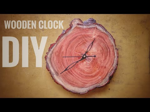 How to make Wooden Clock | DIY wooden Project