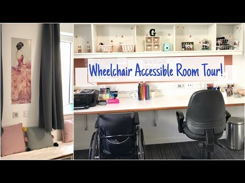 Wheelchair Accessible Room Tour | University Of Kent Turing College