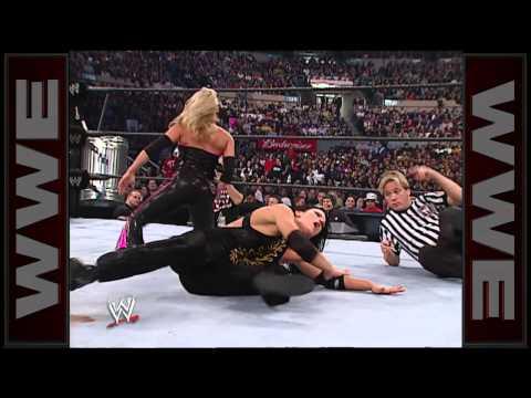 Trish Stratus vs. Victoria - Women's Championship Hardcore Match: Survivor Series 2002
