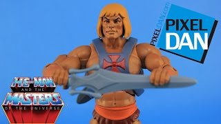 Filmation He-Man 2.0 and the Masters of the Universe Figure Video Review