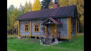 Vanhan hirsirakennuksen kunnostus - Pudasjärvi
