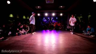 Ćwierćfinał Hip-Hop 1vs1 -  Haribo vs Krzystof Kulling | Free Mind Festival 2013 |WWW.SZKOLYTANCA.PL