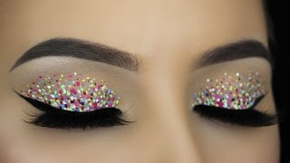 HOW TO Confetti Eye Makeup Tutorial