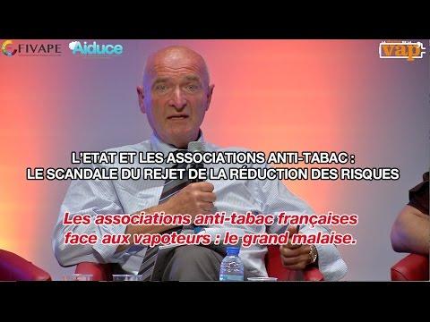 Les associations anti-tabac françaises  : le grand malaise.