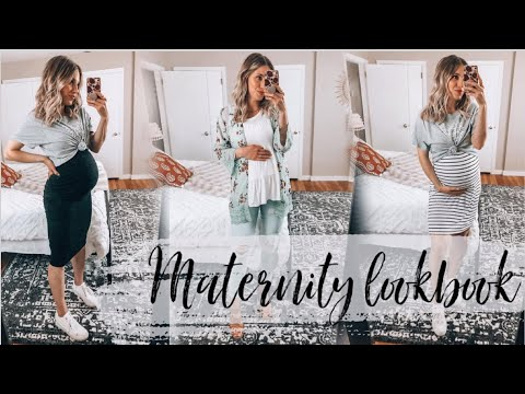 Maternity Capsule Wardrobe | Spring/Summer Maternity Outfit Ideas! | 12 Pieces, Unlimited looks!