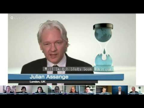 Election Hangout  On Air with Julian Assange