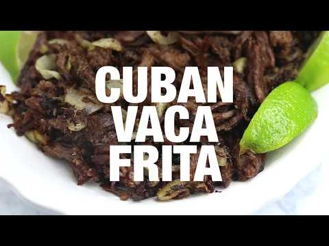 Vaca Frita (Cuban Fried Beef)
