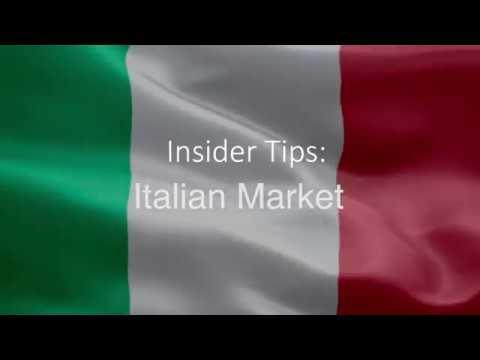 Insider Tips Italian Market ¦ Gabriella Broggi from Cocktail Tour Operators, Milan office