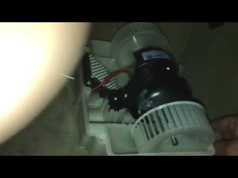 2007 Mercedes S-550 Fan Blower Motor Replacement - YouTube