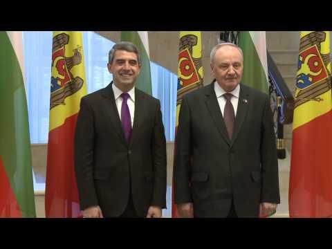 Vizita oficiala a Presedintelui Bulgariei Rosen Plevneliev 15.11.2016