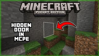 Minecraft : How To Make Ghost Block/False Wall In MCPE