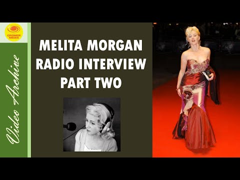 Melita Morgan Mister Lonely Interview North Norfolk Radio Part Two