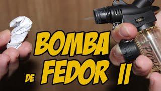 Como Fazer uma Bomba de Fedor Simplificada