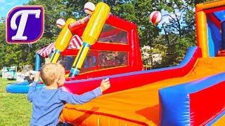 Макс Пожарник Военные Вертолёты Выставка Старинных Машин Кролики Детские Развлечения Влог fun vlog