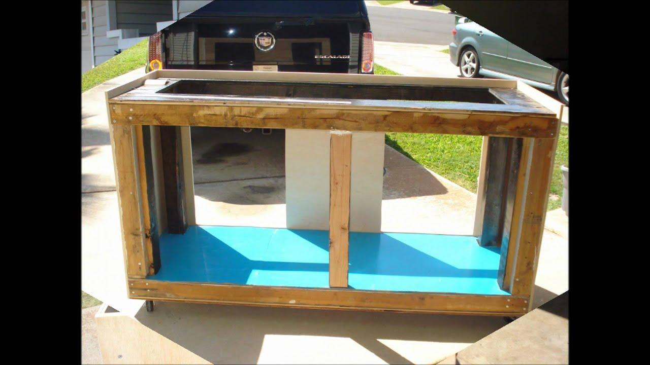 125 gallon aquarium stand build funnydog tv for 125 gallon fish tank stand