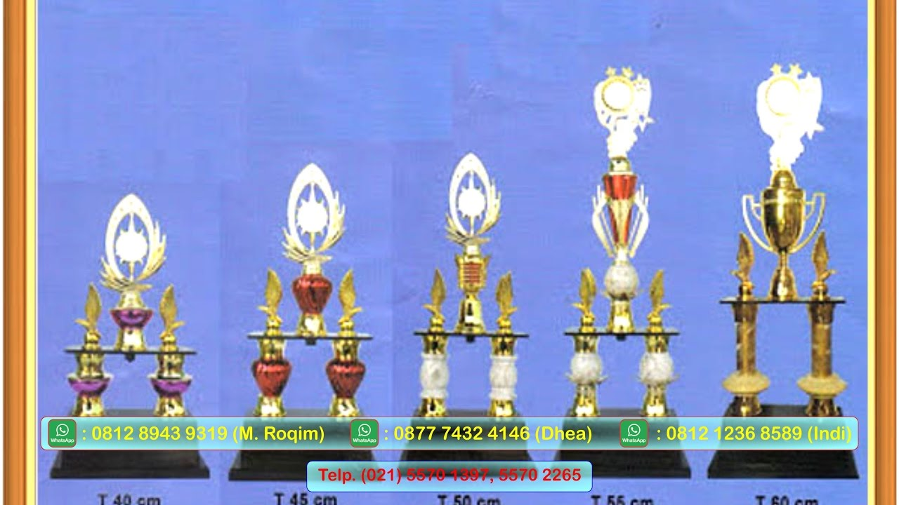 021 55701397 Harga Piala Murah Berkualitas Asaka Trophy Youtube Plakat Fiber