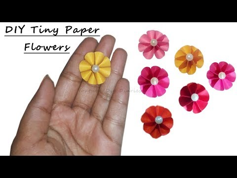 how-to-make-tiny-paper-flowers-|-diy-small/tiny-paper-flowers