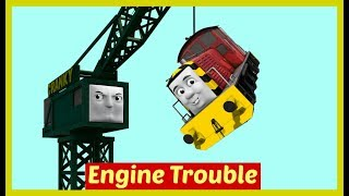 Thomas and Friends Accidents will Happen | Toy Trains Thomas the Tank Engine | Brendam Docks Thomas