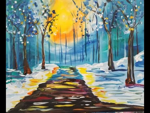 "Tipsy Paint ""Winterwalk"""