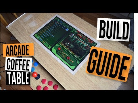 Mame Coffee Table.Arcade Mame D I Y Coffee Table 2 Noob Builders Guide Easy Diy