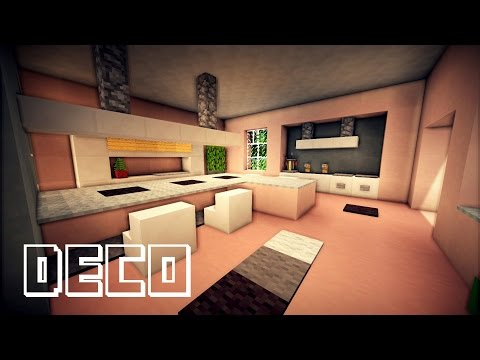 minecraft tuto deco youtube. Black Bedroom Furniture Sets. Home Design Ideas