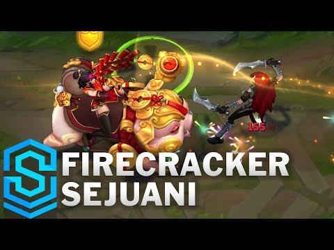 Firecracker Sejuani Skin Spotlight - League of Legends