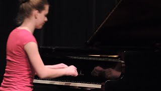 Abigail Newton -- Kinsmen Music Festival Classical Piano