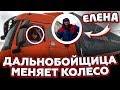 ЕЛЕНА ДАЛЬНОБОЙЩИЦА vs КОЛЕСО ФУРЫ!