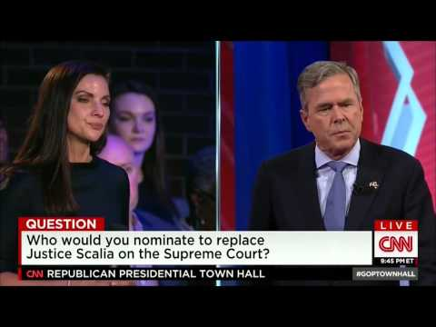 """Bush: """"I Probably Would"""" Nominate A Supreme Court Justice If I Were In Obama"""