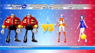Sega Superstars Tennis Tournament Mode