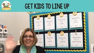 How to Get Your Kids to Line Up in Preschool