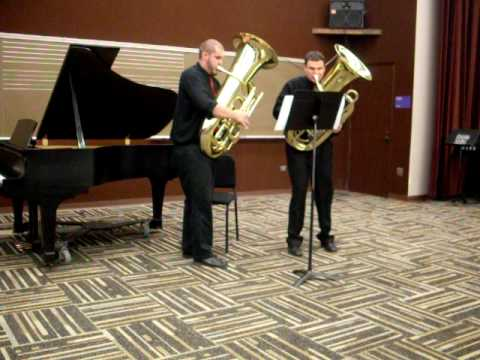 Dueling Tubas